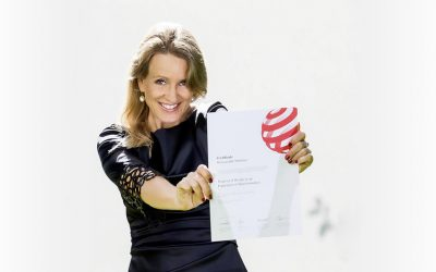 Preisverleihung Red Dot Award: Interior Design 2019 für Stefanie Jörgens